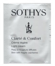 Sothys Clear and Comfort Light Cream Trial Sample