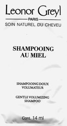Leonor Greyl  Shampooing Au Miel Gentle Volumizing Shampoo Trial Sample