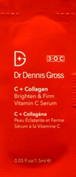 Dr. Dennis Gross C + Collagen Brighten & Firm Vitamin C Serum Trial Sample