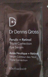 Dr. Dennis Gross Ferulic + Retinol Triple Correction Eye Serum Trial Sample