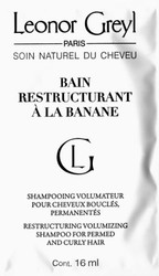 Leonor Greyl Bain Restructurant A la Banane Shampoo Trial Sample