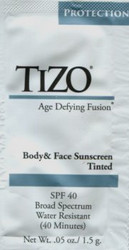Tizo Body & Face Sunscreen SPF 40 Tinted Trial Sample