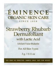 Eminence Strawberry Rhubarb Dermafoliant Trial Sample