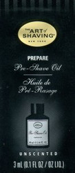 The Art of Shaving Pre-Shave Oil Trial Sample - Unscented