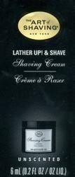 The Art of Shaving Shaving Cream Trial Sample - Unscented