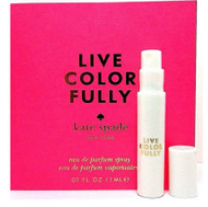 Kate Spade Live Colorfully Perfume Spray Sample Vial 1 ml