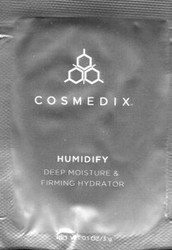 Cosmedix Humidify Hydrator Trial Sample