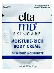 EltaMD Moisture-Rich Body Creme Trial Sample