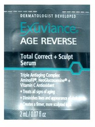 Exuviance Age Reverse Total Correct + Sculpt Serum Trial Sample