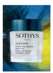 Sothys Noctuelle Detox Resurfacing Overnight Cream Trial Sample