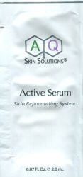 AQ Skin Solutions Active Serum Trial Sample