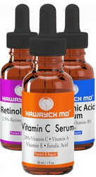 Hawrych MD 20% Vitamin C Retinol and Hyaluronic Acid Serum Set
