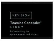 Revision Teamine Concealer - Light Trial Sample