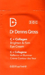 Dr. Dennis Gross C + Collagen Brighten & Firm Eye Cream Trial Sample