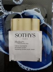 Sothys Hydra 3Ha Hydrating Comfort Youth Cream Trial Sample