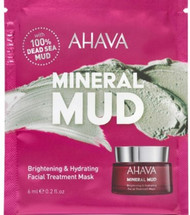 AHAVA Mineral Mud Brightening & Hydrating Facial Mud Mask Single Application