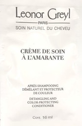 Leonor Greyl Creme De Sion a L'Amarante Conditioner Trial Sample