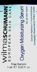 Wilma Schumann Oxygen Moisturizing Serum Trial Sample