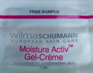 Wilma Schumann Moisture Activ Gel-Creme Trial Sample