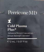 Perricone MD Cold Plasma Plus+ Advanced Serum Concentrate Trial Sample
