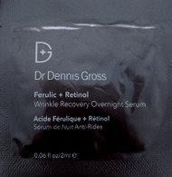 Dr. Dennis Gross Ferulic and Retinol Wrinkle Recovery Overnight Serum Trial Sample