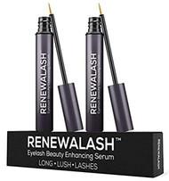 RENEWALASH Eyelash Beauty Enhancer Serum TWO Pack Set 3 ml Each
