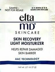 EltamMD Skin Recovery Light Moisturizer Trial Sample