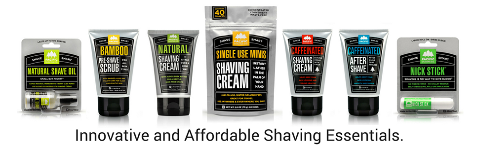 Innovative and Effective Shaving Essentials