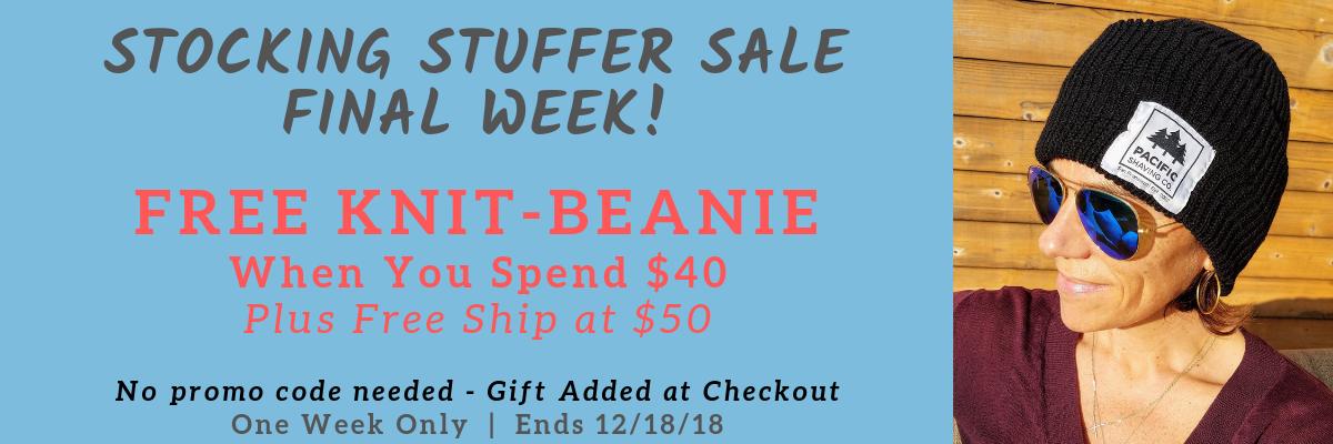 Free Knit Beanie