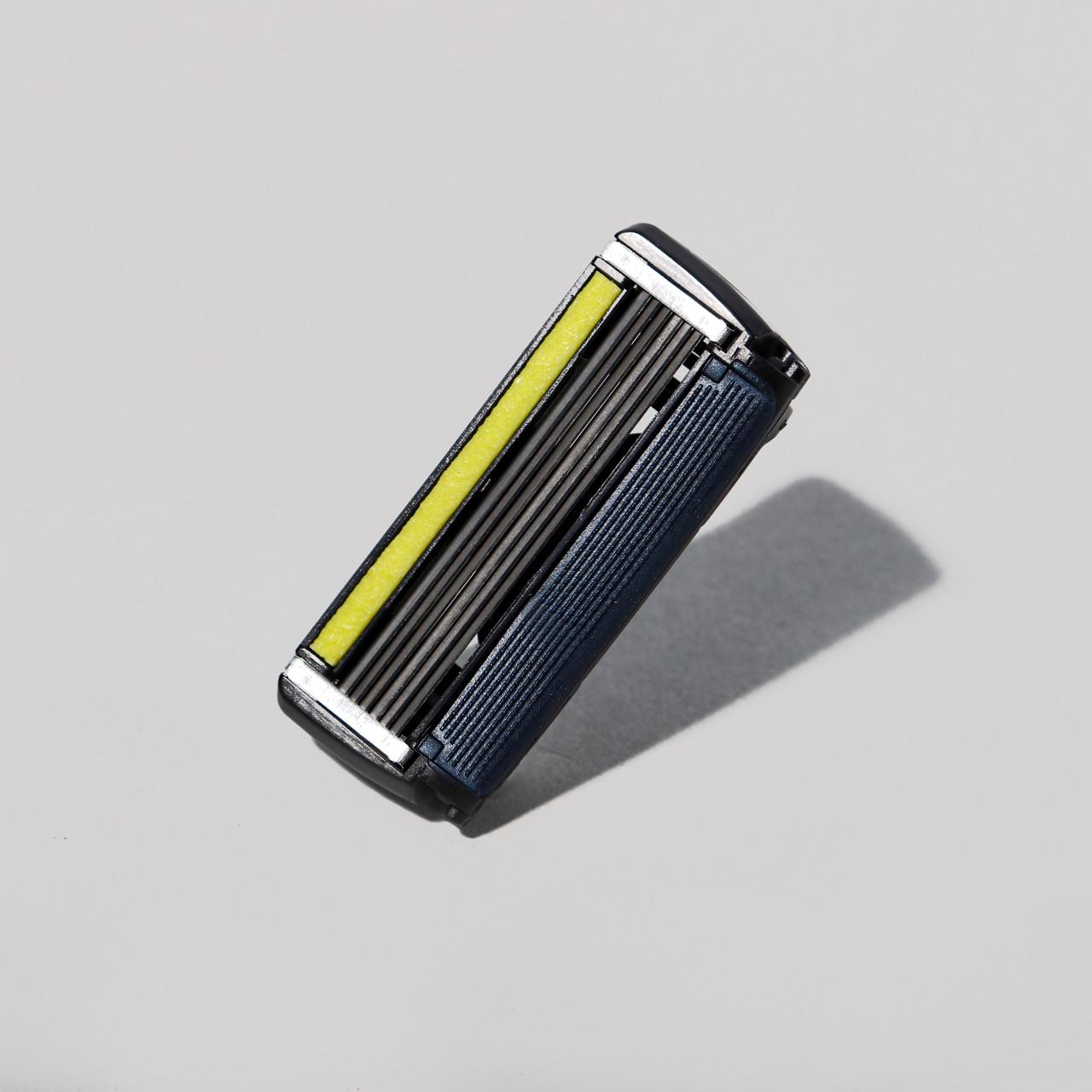 Premium 6-Blade Razor Refills (No Handle)