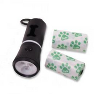 Betterware Torch With Dog Waste Bags