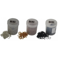Bitz Plaiting Bands, 500 Pack