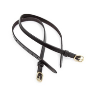 Shires Equestrian Leather Spur Straps
