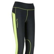 Equi Theme Pull-On Endurance Breeches, Anthracite, Neon Yellow Inserts