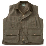 Hoggs of Fife Edinburgh Green Tweed Mens Waistcoat