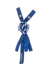 Rogz Cowboyz Dog Knot Chew Toy  Blue