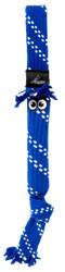 Rogz Scrubz Teeth Cleaning Dog Toy, Blue