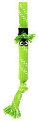 Rogz Scrubz Teeth Cleaning Dog Toy, Lime