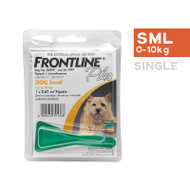 Frontline Plus Small Dog 0-10kg single