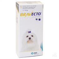 Bravecto Toy Dog 2-4.5kg