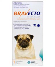Bravecto Small Dog 4.5-10kg