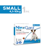 Nexgard Small Breed 4.1-10kg