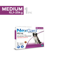 Nexgard Medium breed 10.1-25kg