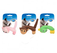 Duvo Cat Toy Assortment Animals Body