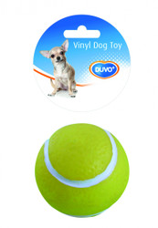 Duvo Dog Toy Vinyl Tennis Ball