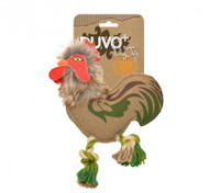 Duvo Dog Toy Canvas Rooster