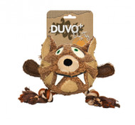 Duvo Dog Toy Canvas Plush Tiger