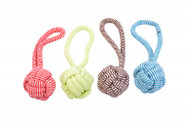 Duvo dog Toy Scooby Rope Ball