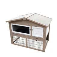 Duvo+ Gypsy Cottage Wooden Rabbit Hutch