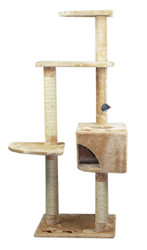 cb Pluto cat tree beige with box lrg